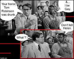 To Kill A Mockingbird Meme - will mayella be surprised imgflip