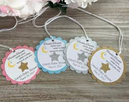 twinkle twinkle baby shower favor tag