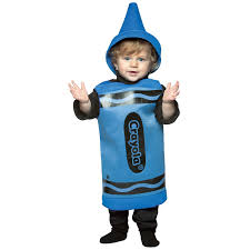 crayon halloween costume party city blue crayola crayon toddler costume buycostumes com
