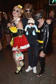 Hangover Halloween Costume Boozed Halloween Revellers Newcastle Birmingham Pictured