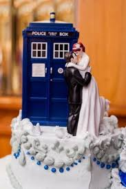 beautiful doctor who tardis wedding cake topper the doctor is