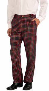 Amazoncom Forum Novelties Mens Christmas Plaid Pants Clothing