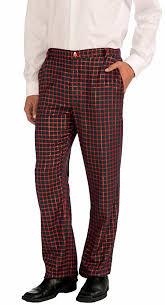 Amazoncom Forum Novelties Mens Christmas Plaid Pants Clothing