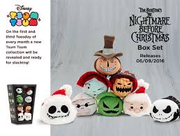 nightmare before set and villains coming the tsum