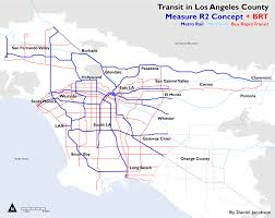 Louisiana State Map With Cities by Guest Opinion The Future Of Los Angeles Is Bus Rapid Transit