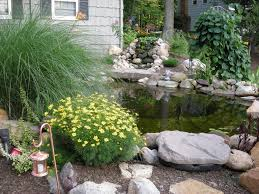 patios with fish ponds front yard koi pond with 4 foot waterfall