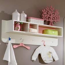 wandregal kinderzimmer neu babyzimmer wandboard in weiß rosa regal hängeregal