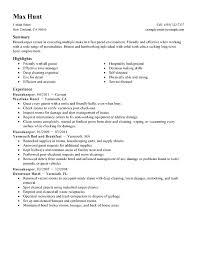 11 hospital housekeeping supervisor resume sample resume career
