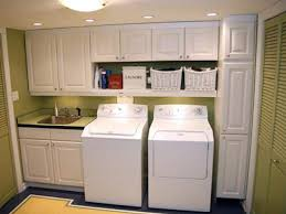 versatile laundry cabinets in smart organizing and storing