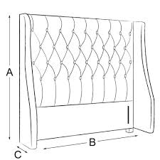 Padded King Size Headboards by Google Images Of Upholstered King Size Headboards With Size Wings