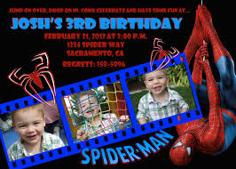 free spiderman birthday invitations templates u2014 all invitations ideas