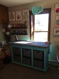Quilting Cutting Table by Tanya Quilts In Co Sewing Room Update