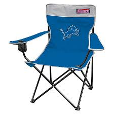 Furniture Lowes Folding Chairs Lowes Shop Coleman Indoor Outdoor Steel Detroit Lions Standard Folding