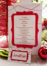 christmas dinner order online contemporary canvas christmas buffet menu and folded place card by