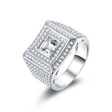 aliexpress buy mens rings black precious stones real 20 best 925 mens silver rings images on mens silver