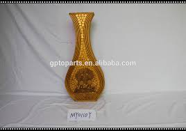 Large Wicker Vases 80cm Coarse Rattan Vase French Woven Pattern Bottle Wood Flower