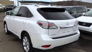 lexus pre certified vehicles pre owned white 2010 lexus rx 350 awd touring package review