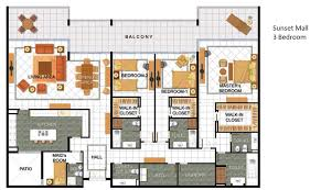 3 floor plan jumeirah 1 2 u0026 3 dubai floor plans