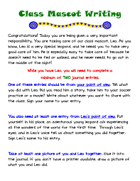 cool ways to write your name on paper engaging young writers at home the class mascot writing project download a customizable note and list of ideas schedule and journal paper to send home with your class