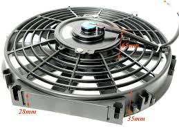 10 inch radiator fan universal slim electric radiator fan 8 9 10 12 14 inch push or pull