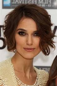 bob haircuts keira knightley keira knightley curly hair intended for your hair my salon