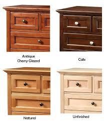 cherry wood night stand grain wood furniture shaker 2 drawer