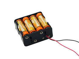 led battery operated 12v battery holder for aa 27a 23a for 12v