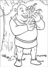shrek coloring pages free printable coloring pages