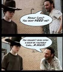 Rick Carl Memes - walking dead memes rick and carl dead best of the funny meme