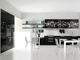 deco cuisine noir et blanc emejing cuisine blanc et noir pictures design trends 2017