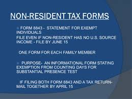 basic tax information for f1 visa holders international students