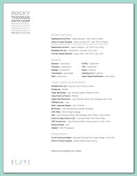 Assistant Fashion Designer Resume Rockythomas Resume Aug2009 Gif