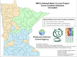 State Of Mn Map by Minnesota Statewide Altered Watercourse Project