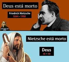Nietzsche Meme - god wins meme by bolsonaro2108 memedroid