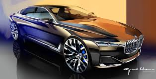 luxury bmw future concept car design bmw vision future luxury concept