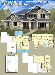 beautiful 2 story plus basement house plan 4 bedroom 2 5