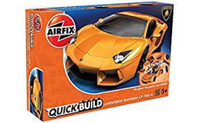 lamborghini car kits amazon com airfix quickbuild lamborghini aventador lp700 4