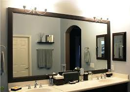 Bathroom Framed Mirror Mirror Framed Mirror Bathroom Juracka Info