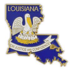 Flag Lapel Pins Bulk Pinmart U0027s State Shape Of Louisiana And Louisiana Flag Lapel Pin Ebay