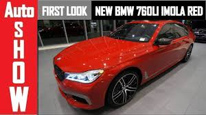 red bmw 2017 2017 bmw m760li imola red first look youtube