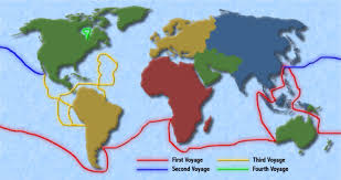 Vasco Da Gama Route Map by Dudes With Ships By Hannah Meier