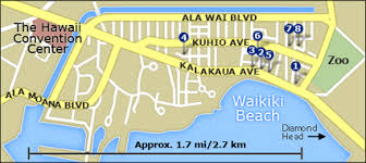 map of waikiki hotels for apec 2011 honolulu