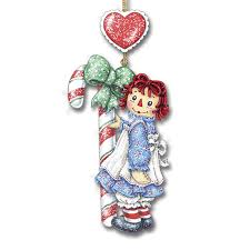 raggedy andy glitter ornaments your 1st one is free the