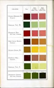 color multi color color chart paint with lead colour