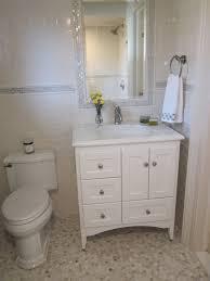Mirrored Subway Tile Backsplash Bathroom Transitional With by 42 Inch Bathroom Vanity Bathroom Traditional With Calacatta Marble