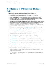 si es auto r lementation hp distributed r user guide