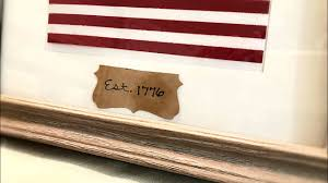 Patriotic Home Decor Framed American Flag Diy Patriotic Decor Dollar Tree Diy