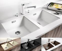 Blanco Supreme 533 U by Unique Blanco Ceramic Kitchen Sinks Taste