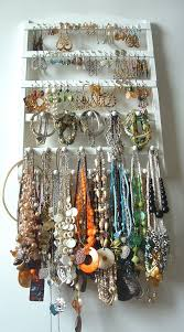necklace organizer display images 148 best bead storage jewelry display ideas images jpg
