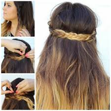 simple braided hairstyles for long hair side braid hairstyles for
